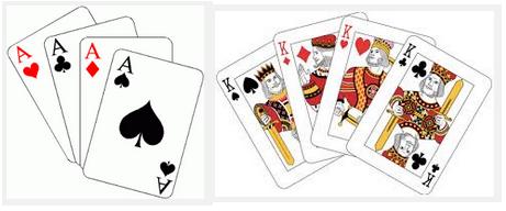 4 Aces, 4 Kings