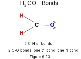 Formaldehyde Bonds