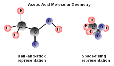 Molecular Geometry Acetic Acid