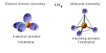 Molecular Geometry CCl<sub>4</sub>